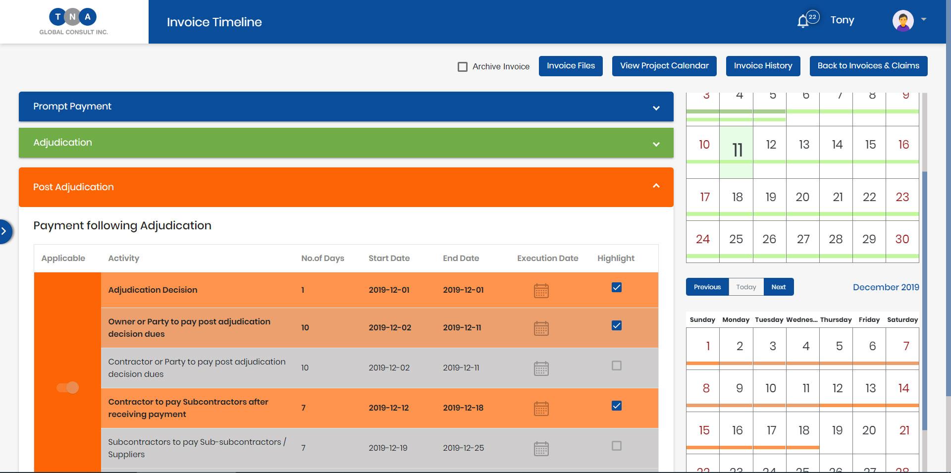 PPA Tracker Dashboard